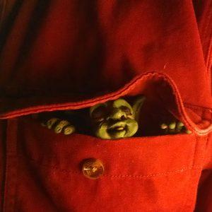 OOAK Art Doll Pocket Goblin