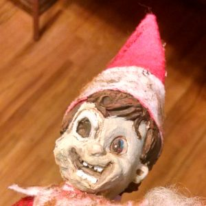 Zombie Elf on a Shelf